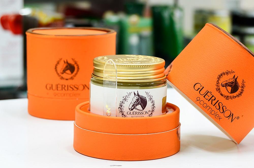 Image result for kem ngựa guerisson 9 complex thương hiệu