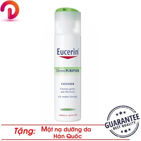 Sữa Rửa Mặt Giảm Nhờn Ngừa Mụn Eucerin Dermo Purifyer Cleanser 200ml