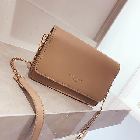 Small Bag Female 2018 New Style Fashion Chain Shoulder Bag Korean Style Versitile Fashion Shoulder Bag Elegant Square Sling Bag