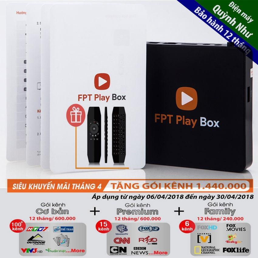 Bán Tv Box Fpt Play Box 2018 Tặng Chuột Bay Vinabox Km950 Chinh Hang Trị Gia 490K