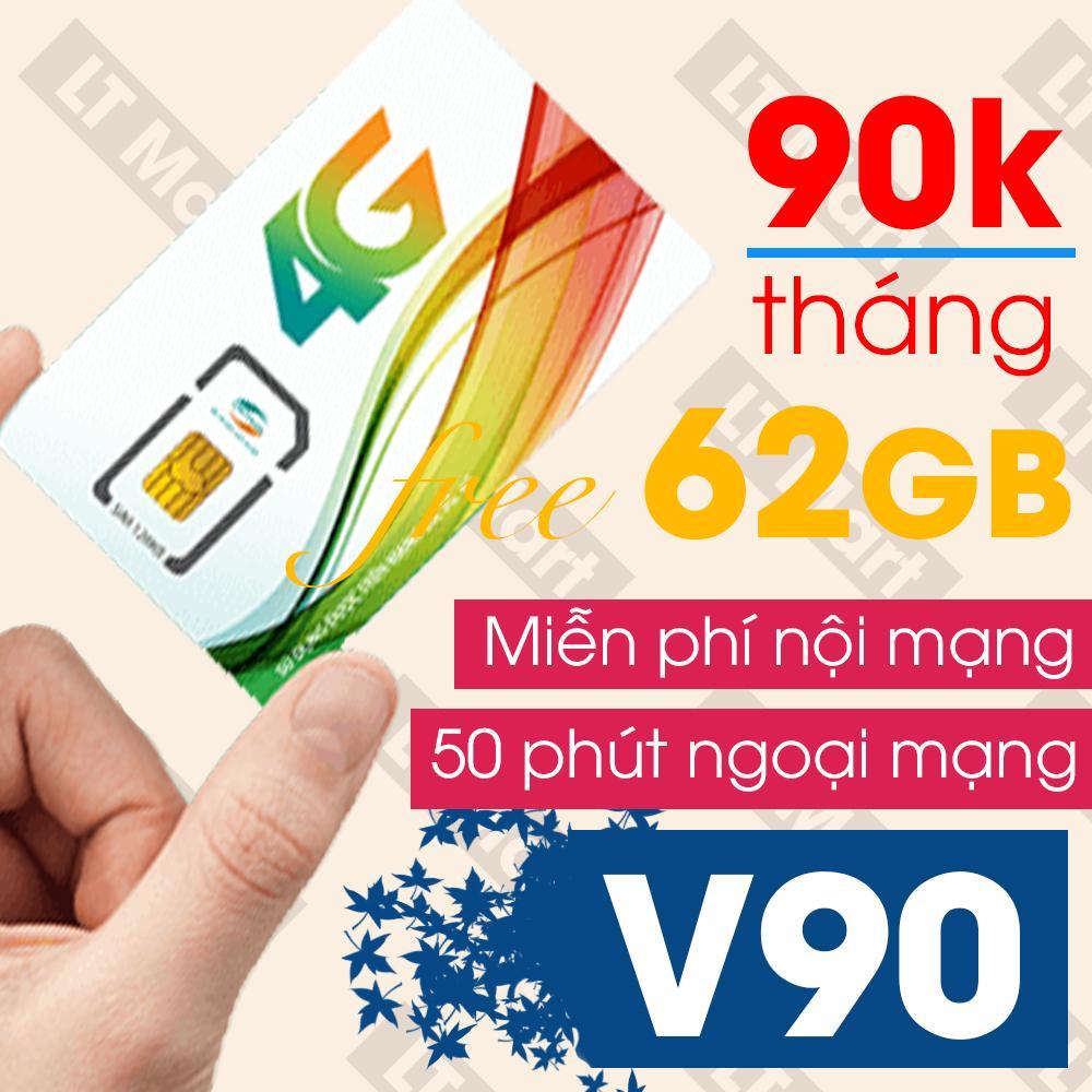 Sim 4G Viettel V90 60Gb 4350 Phut Gọi Miễn Phi Thang Chiết Khấu Việt Nam