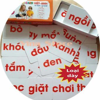 Bộ 416 Thẻ Học Song Ngữ Anh - Việt|Thẻ Học Thông Minh Song Ngữ 16 Chủ Đề Flashcard|Bộ Thẻ Học Thông Minh Cho Bé|Giúp Bé Phát Triển Trí Não Toàn Diện|Top 5 Sản Phẩm Thẻ Học Thông Minh Bán Chạy