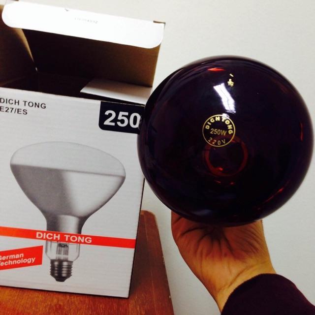Bóng đèn hồng ngoại Dich Tong 250W nhập khẩu