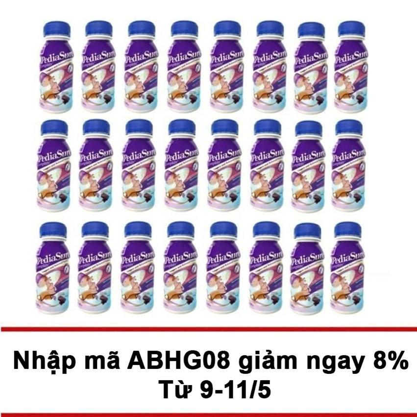 Thung 24 Chai Sữa Nước Pediasure Chocolate 237Ml Trong Vietnam