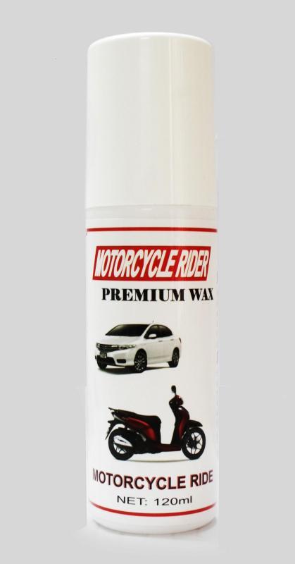 Wax làm bóng sơn và nhựa nhám cao câp Motorcycle Rider Wax 120ml ( BIG SALE)