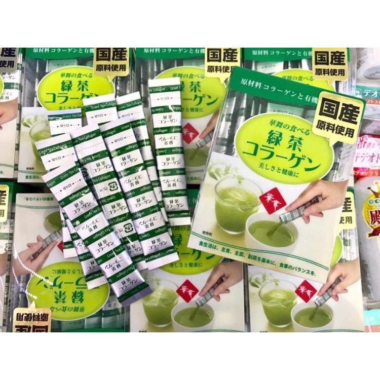 Bán Collagen Hanamai Tra Xanh Nội Địa Nhật Bản Có Thương Hiệu Nguyên