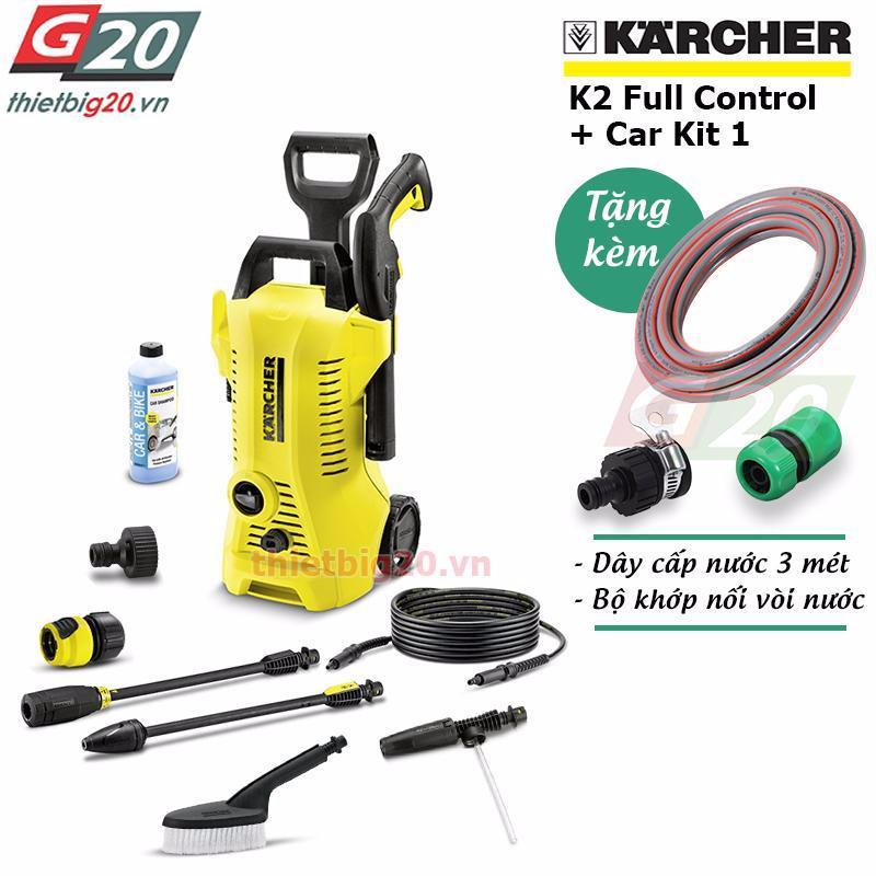 Giá Bán May Rửa Xe O To Gia Đinh Co Chỉnh Ap Karcher K2 Full Control Eu Car Kit 1 Mới