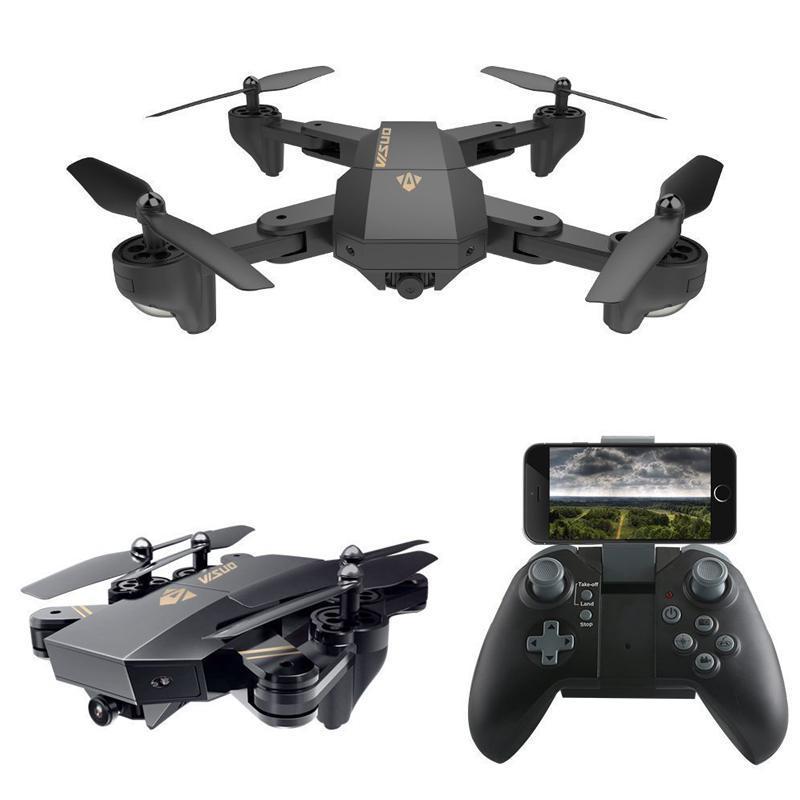 FLYCAM, fly cam mini, fly cam xiaomi loại tốt - Máy bay cánh gấp bỏ túi điều khiển từ xa, camera HD truyền hình trực tiếp, tích hợp chế độ không đầu đuôi, nhào lộn 360 độ, tự động quay về.