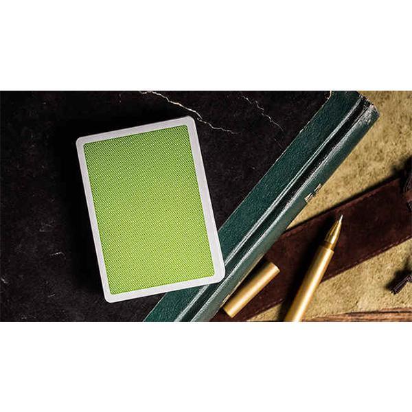 Hình ảnh Steel Green Playing Cards (V2 Edition)