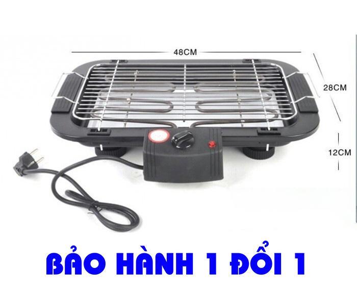 Hình ảnh Bếp nướng Electric Barbecue Grill 2000W - MẪU MỚI, Bếp nướng bằng điện, Bếp nướng gia đình, BH 1 đổi 1 Uy Tín, Giảm 50%