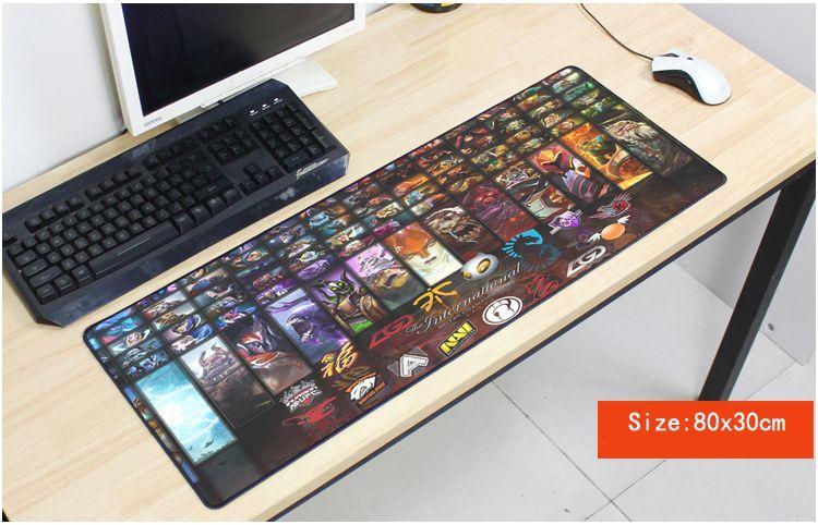 Locrkand Dota 2 Mouse Pad Keren Bantalan Mouse Mousepad Komputer Notebook Populer Bantalan Mouse Gamer Game