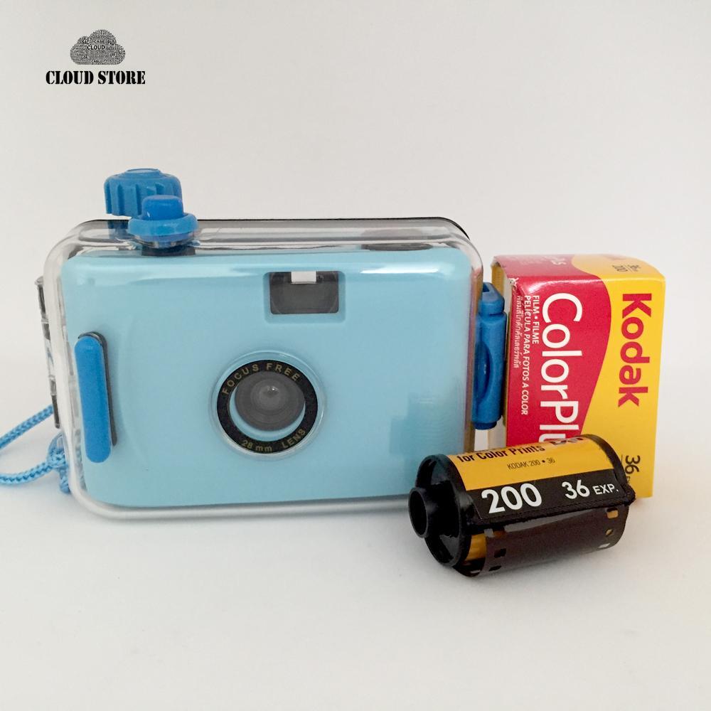 Máy chụp ảnh mini dưới nước kèm film K0dak