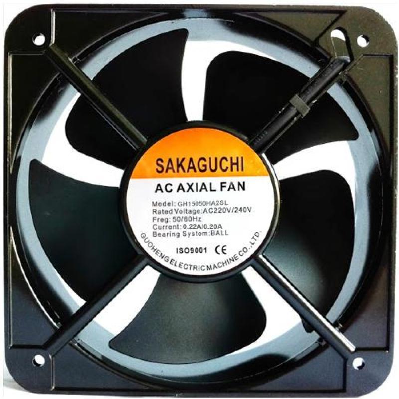 Quạt hút tủ điện Sakaguchi 150x150x50 AC220V
