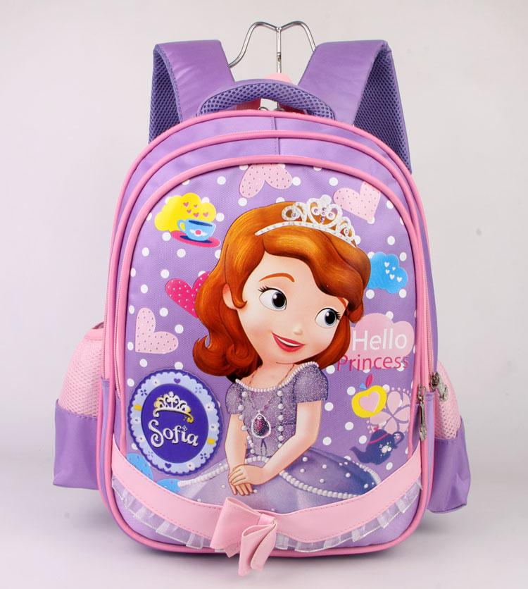 7880b6deb6 Cartoon Children Kindergarten School bag bags Cute girl women Sophia women  Young Student s Book AM.