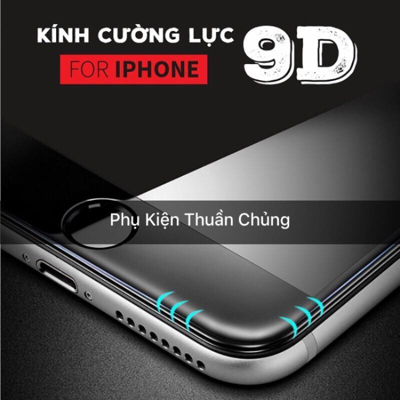 Hình ảnh Kính cường lực 9D full màn hình Iphone 6,6s,7,8,x,6p,6sp,7p,8p,X đen