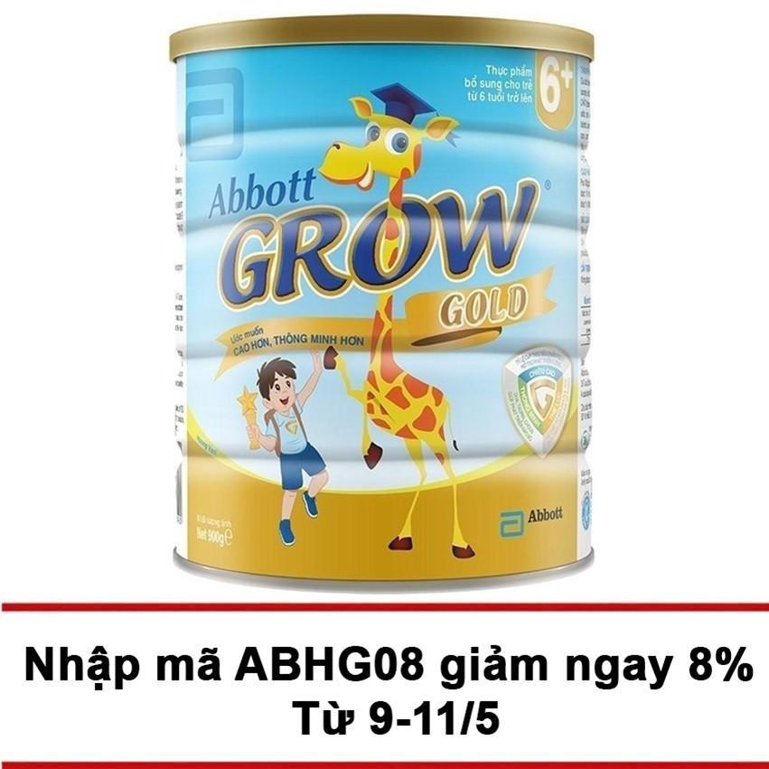 Mua Sữa Bột Abbott Grow Gold 6 Hương Vani 900G Grow