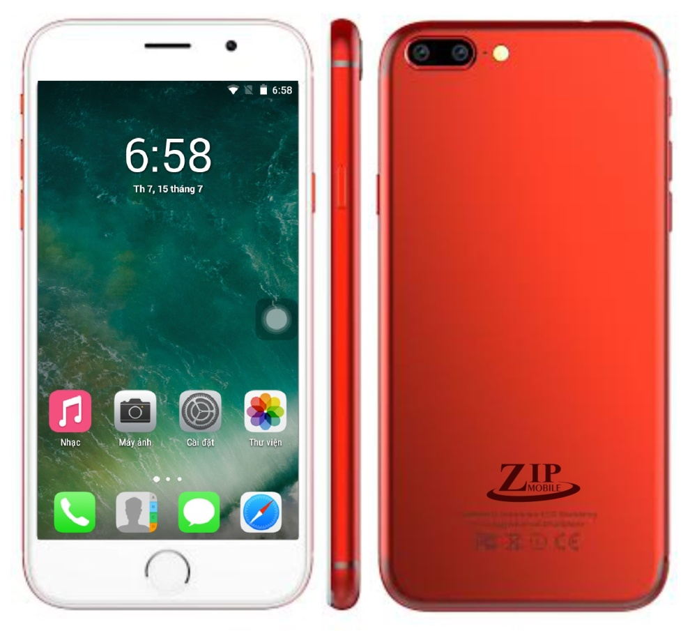 ZIP8 - Màu đỏ