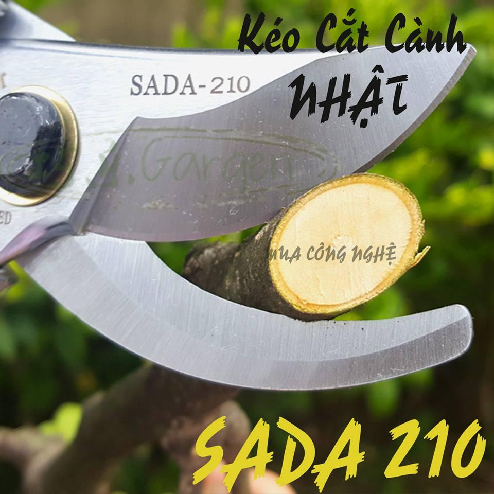 kéo cắt cành cây  sada 210 NhẬt BẢN  (xám)