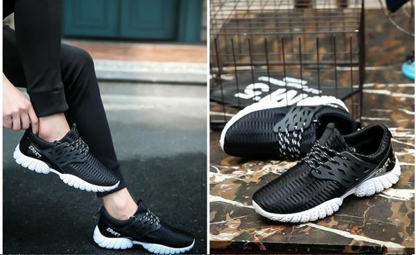 Giày Sneaker thể thao nam Sportmax SMG5208BW