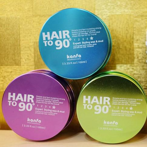 Sáp vuốt tóc Kanfa Hair To 90 Wax 100ml