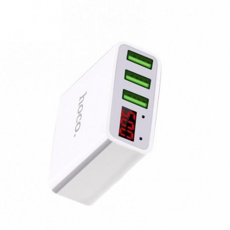 Cốc sạc 3 cổng USB Hoco C15 – Review và Đánh giá sản phẩm