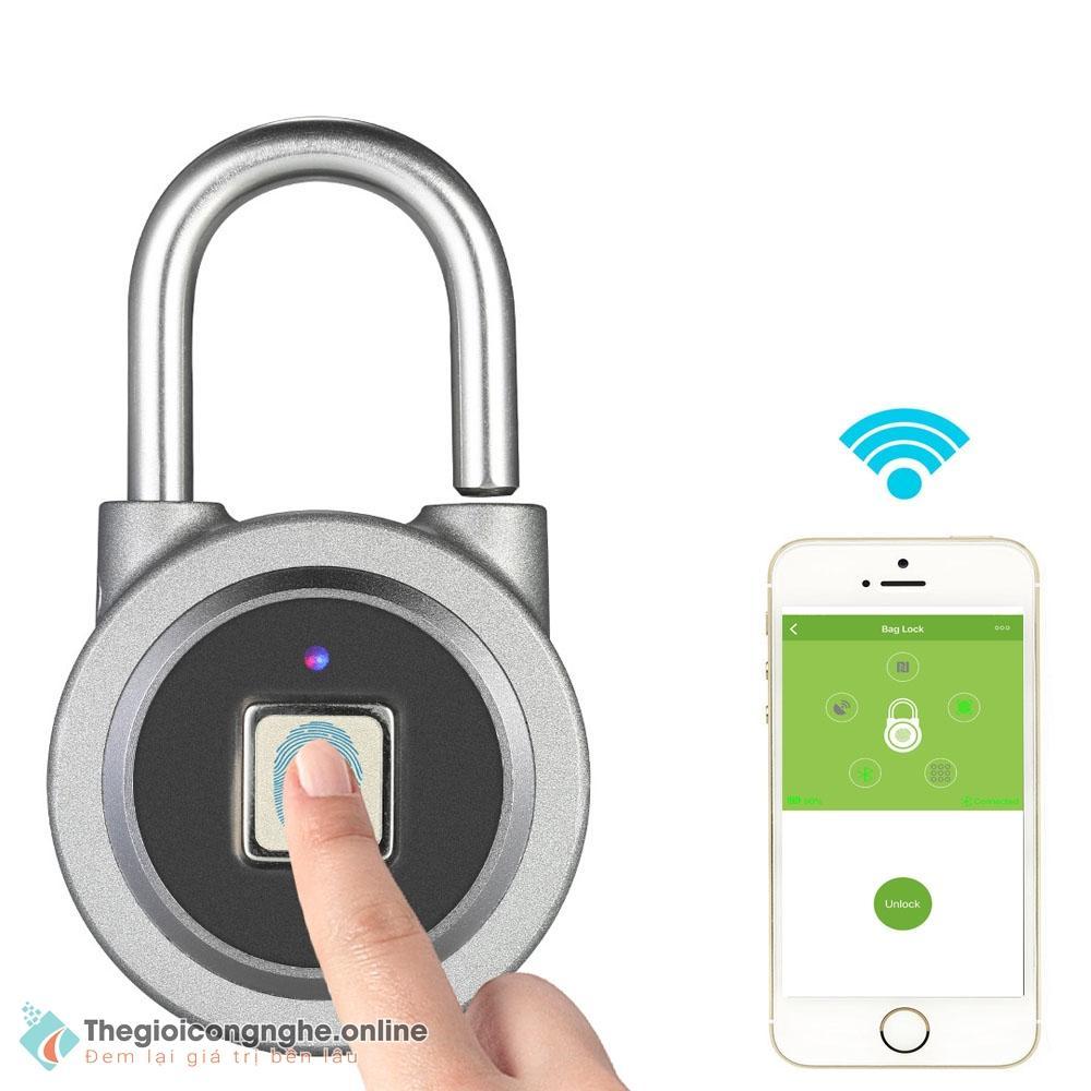Hình ảnh Ổ khoá cửa VÂN TAY - Bluetooth CAO CẤP