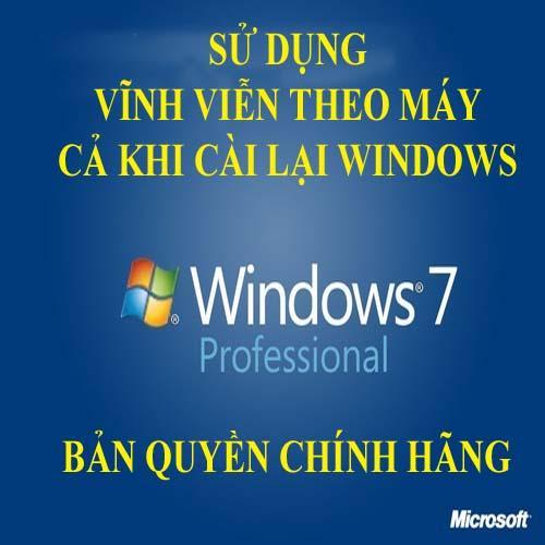 Hình ảnh Hệ điều hành Microsoft Windows 7 Pro Professional 32/64 bit