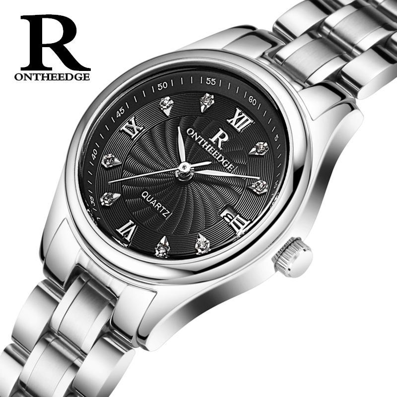 นาฬิกาควอตซ์กันน้ำ แบบบางเฉียบ ชายหญิง By Taobao Collection.