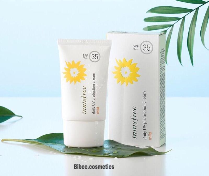 Kem Chống Nắng Dịu Nhẹ dùng hàng ngày Innisfree Daily UV Protection Cream Mild SPF35 PA++