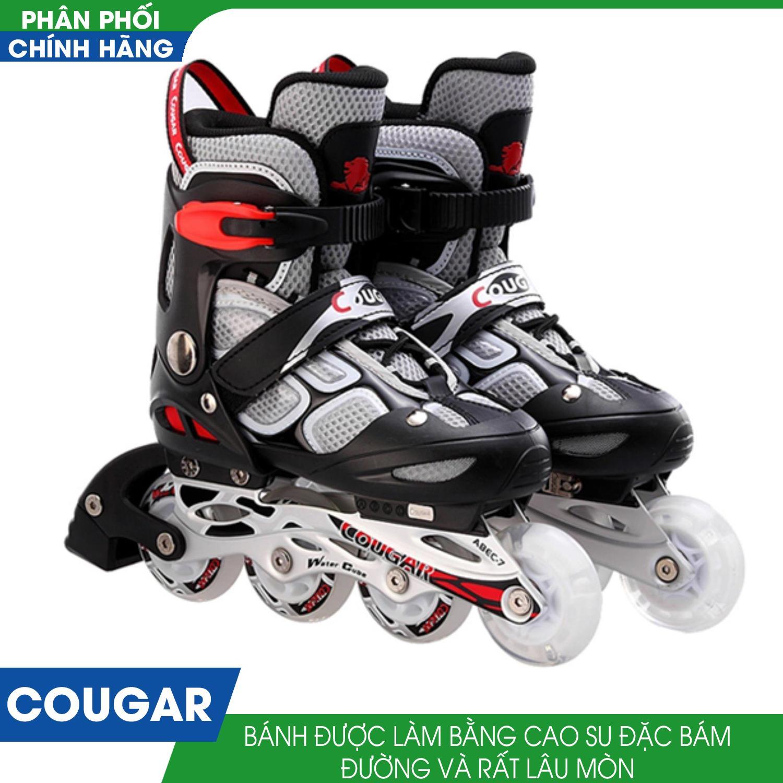 Giá bán Giầy trượt patin Cougar 835L ( đen )