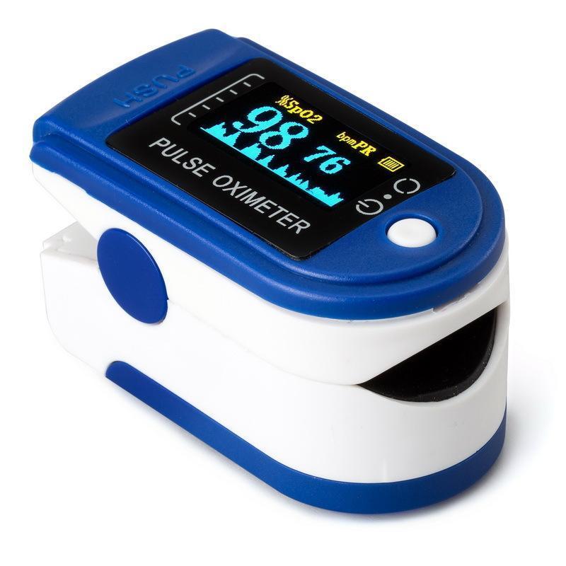 Máy SpO2 đo nồng độ Oxy Trong máu và nhịp tim YL135 (Xanh) bán chạy