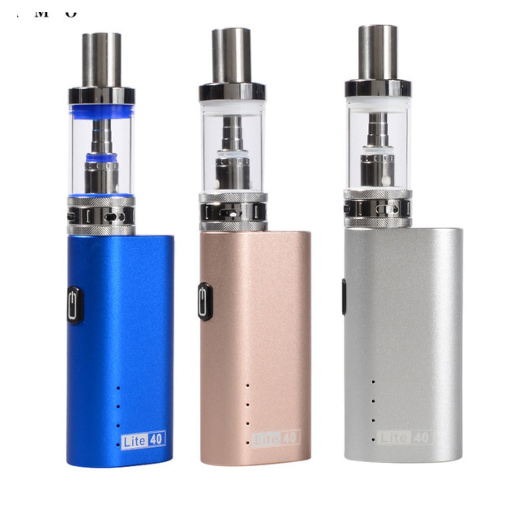 Hình ảnh Bộ thuốc lá điện tử Vape – Shisha 2200mAh JOMO Lite 40w Kit (Xanh) + Quà tặng 2 chai tinh dầu_ Hàng nhập khẩu