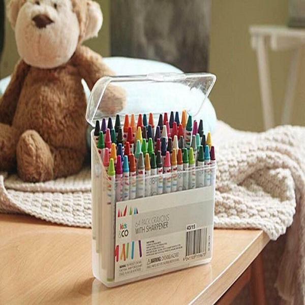 Hình ảnh Hộp bút màu sáp 64 màu cho bé