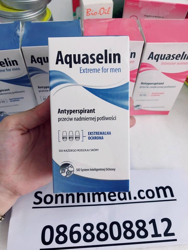 Bán Aquaselin Lăn Khử Mui Cho Nam Aqua Rẻ