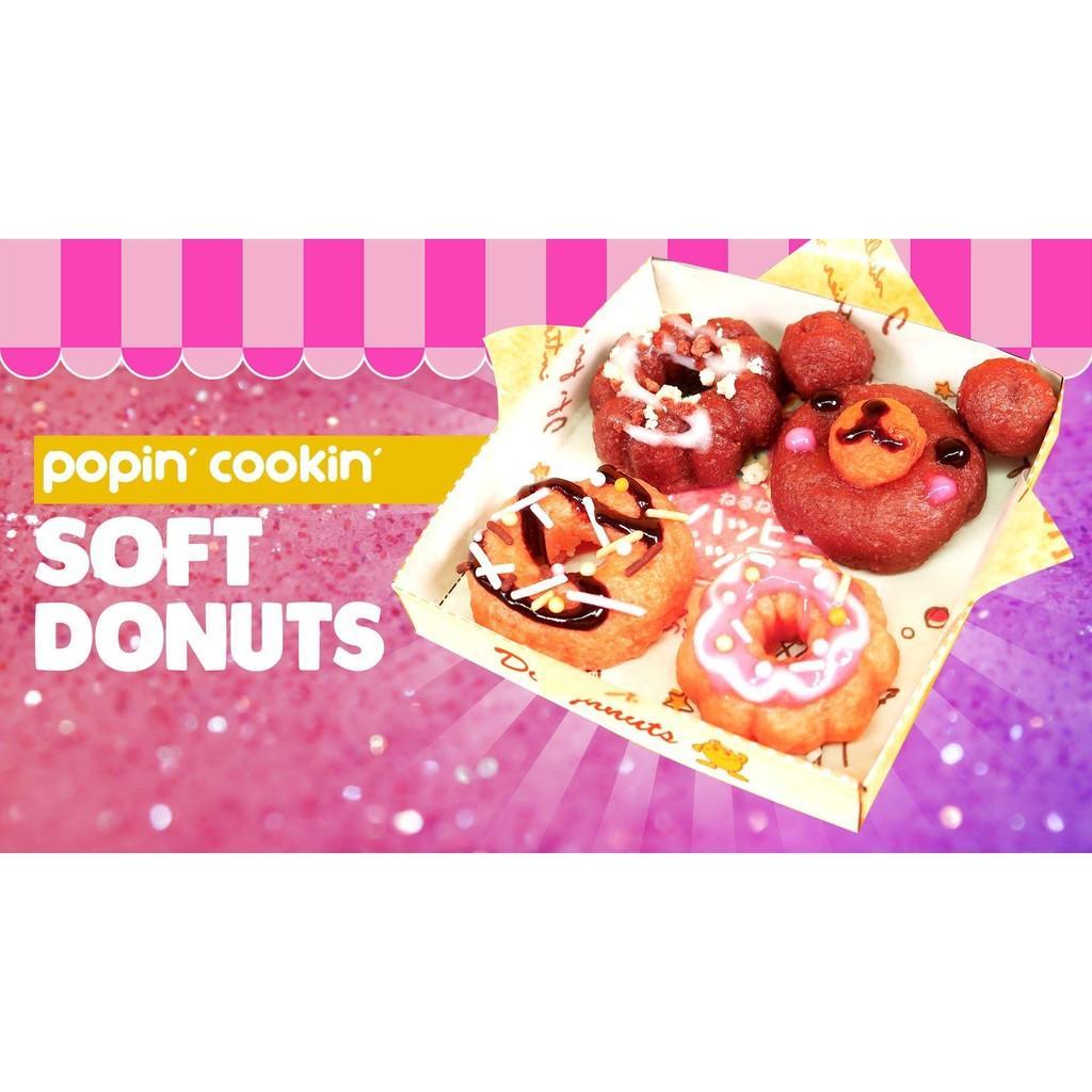 Hình ảnh Popin Cookin làm bánh Donut mẫu mới