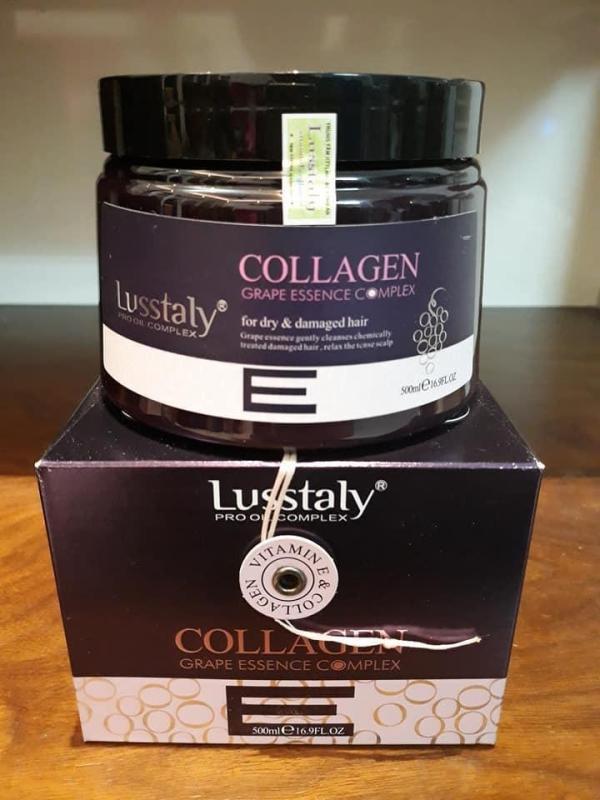 Hấp phuc hồi tóc Lusstaly Italy 500ml nhập khẩu