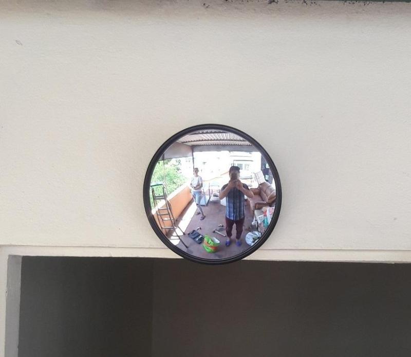 Gương Cầu Lồi Phong thủy 15cm
