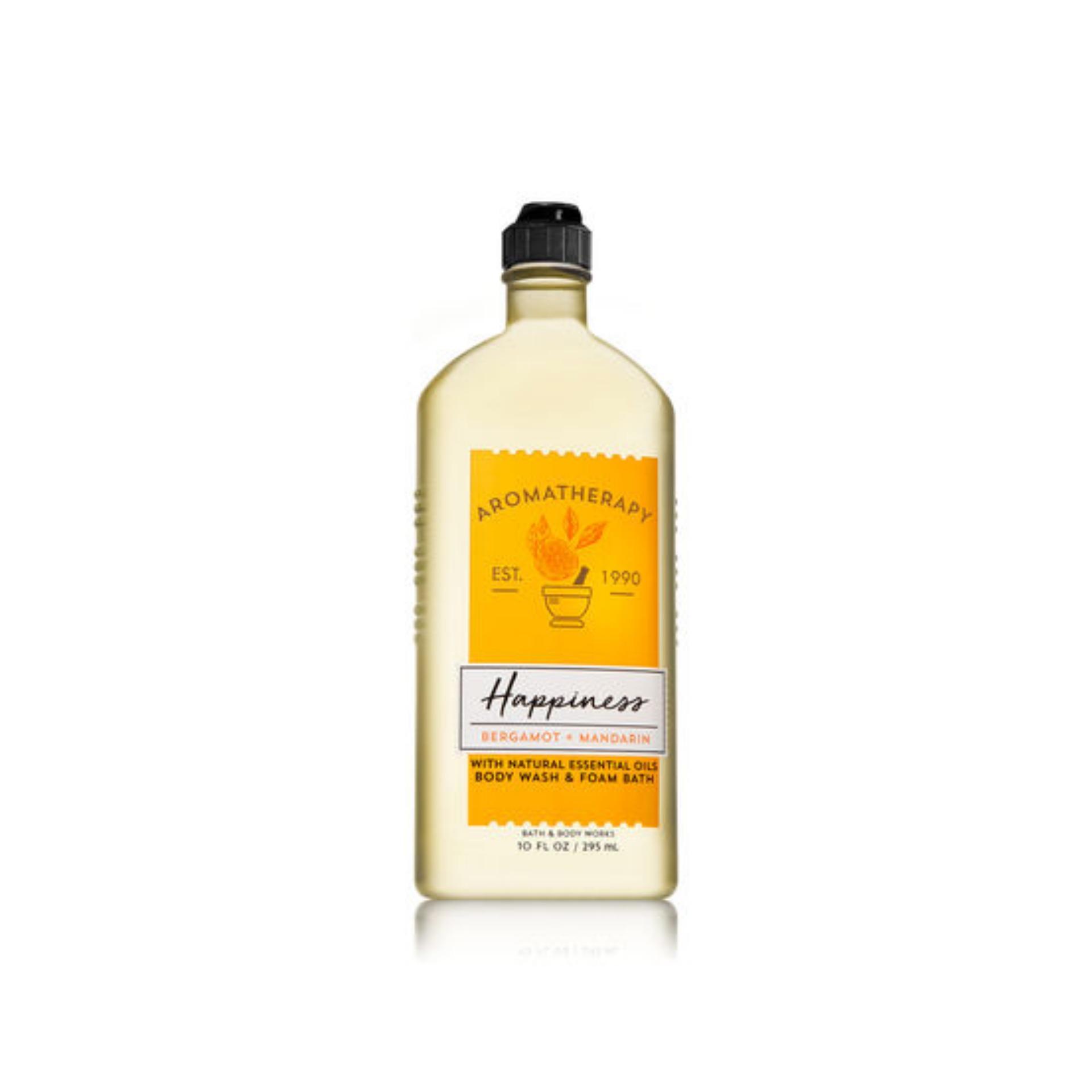 Mã Khuyến Mại Happiness Bergamot Mandarin Body Wash Foam Bath Rẻ