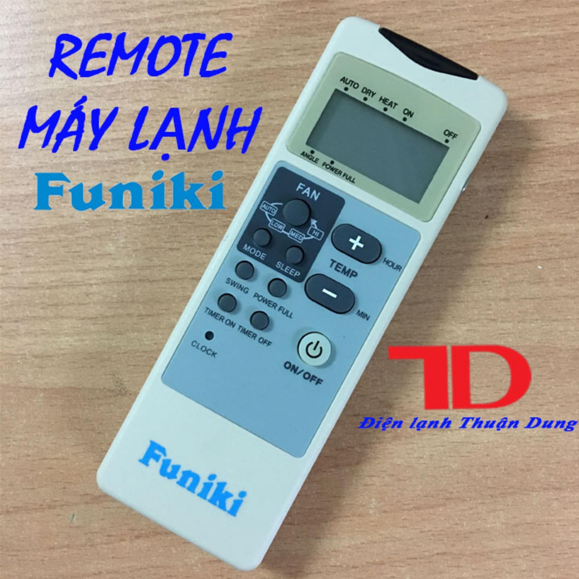 Hình ảnh Remote máy lạnh FUNIKI