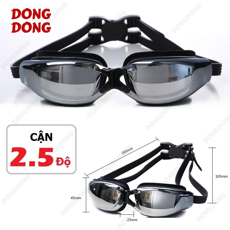Giá Bán Kinh Bơi Cận 2 5 Độ Trang Gương 2588 Chống Uv Chống Hấp Hơi Kinh Thời Trang Cao Cấp Dongdong Nguyên