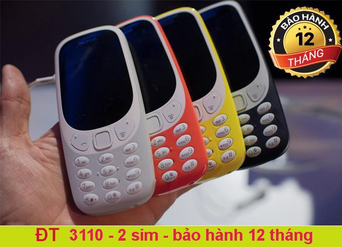 Bán Điện Thoại Nokia 3310 2017 Đỏ Trực Tuyến Việt Nam