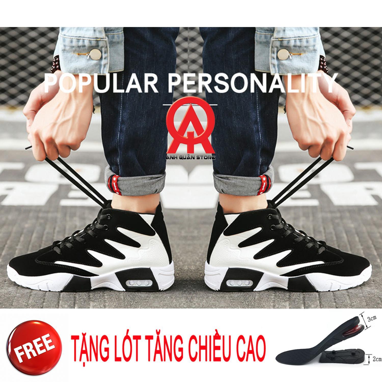 Chiết Khấu Giay Sneaker Nam Korea Star Tặng Kem Lot Tăng Chiều Cao 5Cm Anh Quan Store Có Thương Hiệu