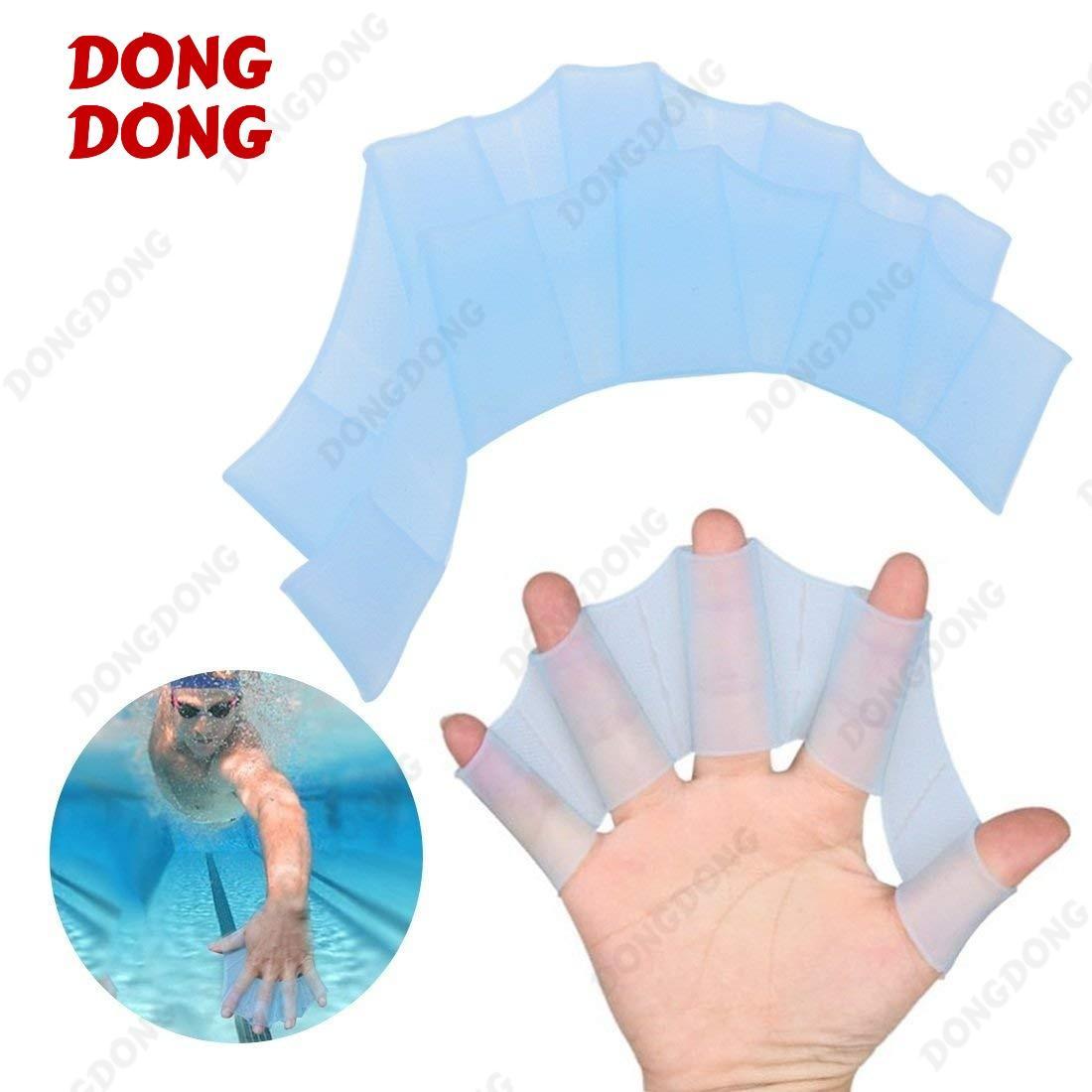 Hình ảnh Màng tay nhái - Bộ 2 chiếc găng tay nhái hỗ trợ bơi lội, chất liệu silicone cao cấp - DONGDONG