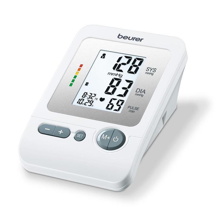 Hình ảnh Máy đo huyết áp bắp tay Beurer có hẹn giờ BM26