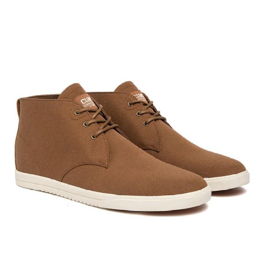 Chiết Khấu Giay Sneaker Nam Cổ Cao Clae Strayhorn Textile Cla01274 Nau Long Gấu Clae Trong Hồ Chí Minh