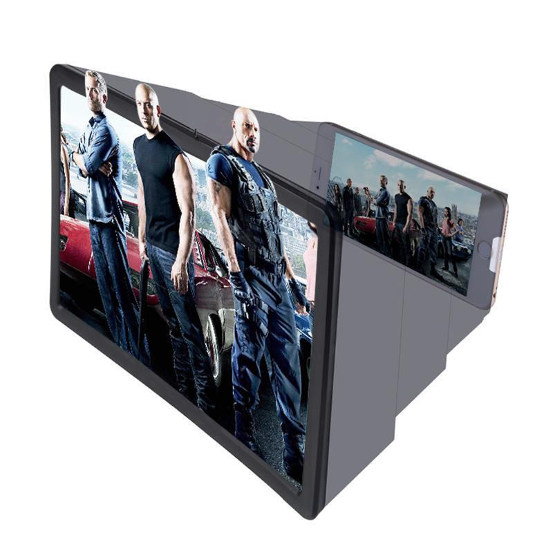 Hình ảnh Kính 3D.Kính xem phim phóng đại 3D Phiên Bản Nâng Cấp thế hệ F2 Điện Thoại Di Động động khuếch đại HD phóng xạ kính lúp 3D điện thoại di động video kính lúp