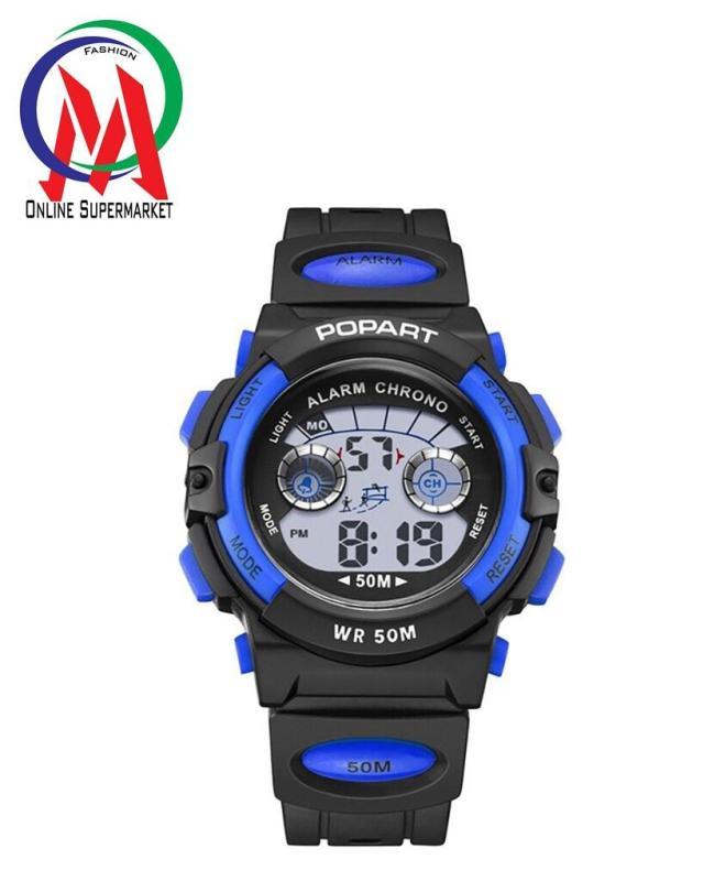Đồng hồ Bé trai Popart OM-310 Chống Nước - Xanh Dương Viền Bạc bán chạy