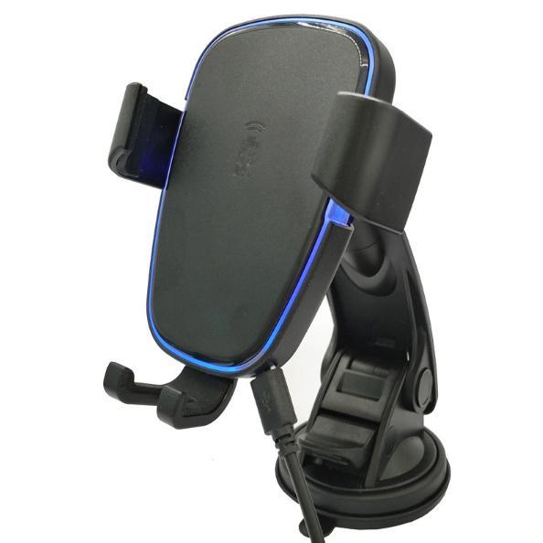 Hình ảnh Bộ sạc nhanh không dây kiêm giá đỡ điện thoại trên ô tô