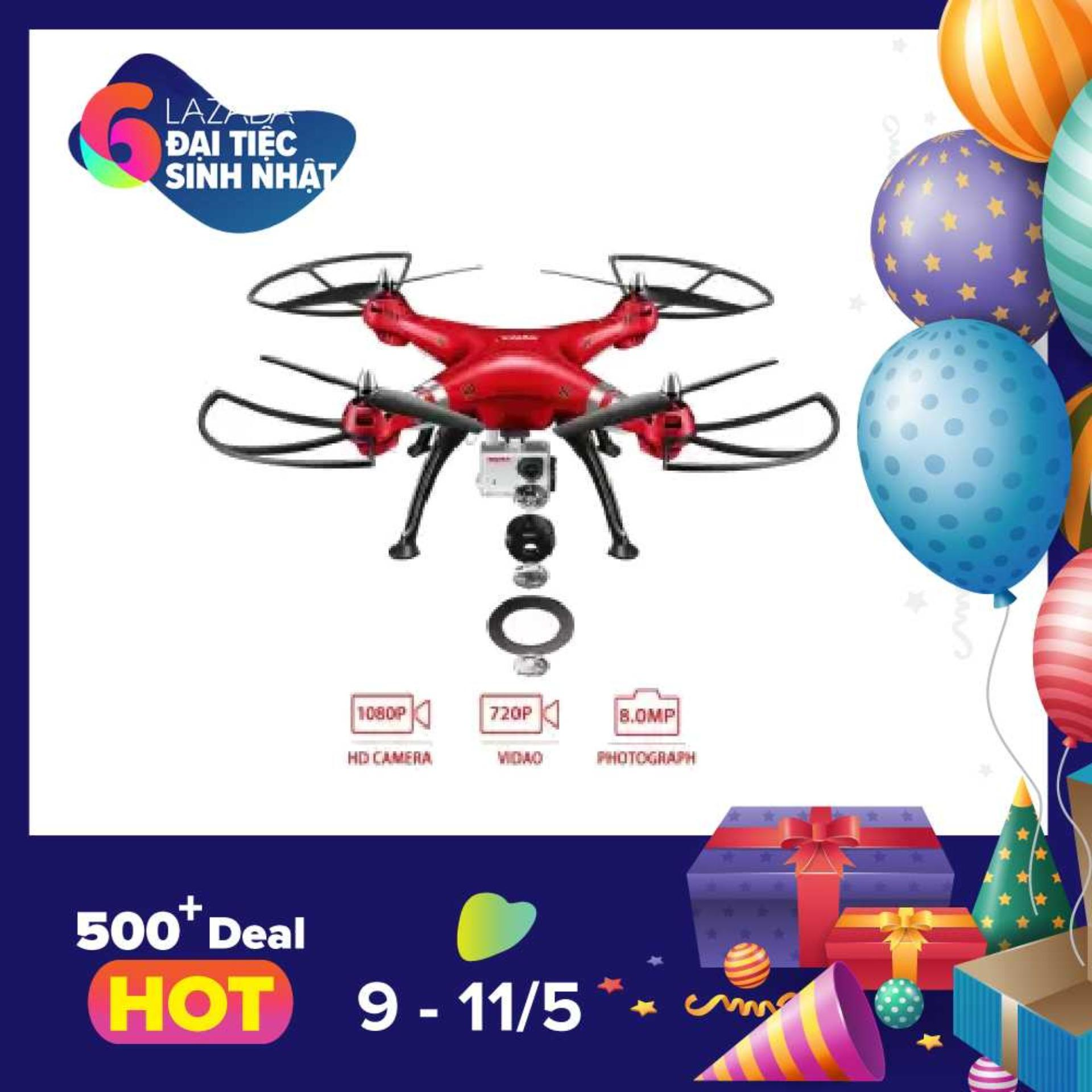 Giá Bán May Bay 4 Canh Drone Cỡ Lớn Syma X8Hg Camera Sieu Net 1080P 8Mp Camera And High Hold Mode 2 4G 4Ch 6Axis Rc Quadcopter Nhãn Hiệu Syma