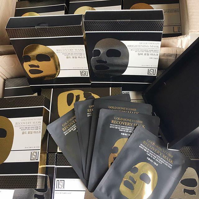 Mặt nạ Giấy Thiếc Dưỡng Trắng, Mờ Tàn Nhang, Thâm Nám Lisu Silver Therapy Brightening Mask nhập khẩu